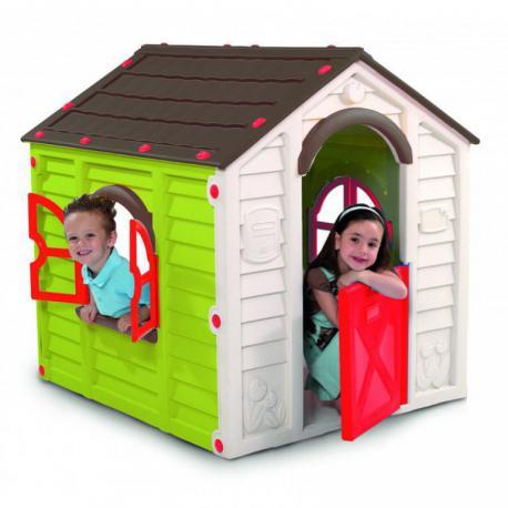 Dětský hrací domek RANCHO PLAYHOUSE - zelený