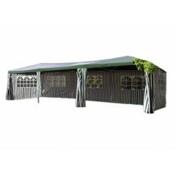 Zahradní stan - zelený, 3 x 9 m