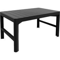 Zahradní, polyratanový stolek LYON