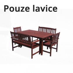 Dřevěná lavice MALAY