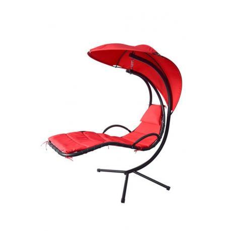 Závěsná houpačka - červená