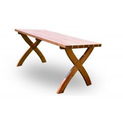 Zahradní dřevěný stůl STRONG - 160 cm