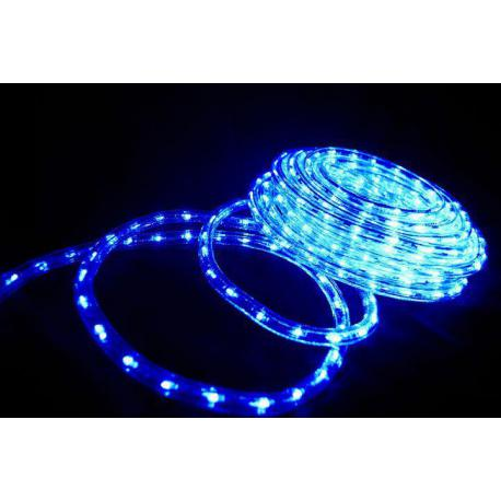 LED světelný kabel 20 m - modrá, 480 diod
