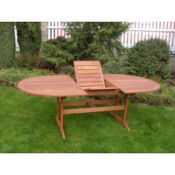 Zahradní rozkládací stůl EDINBURG FSC