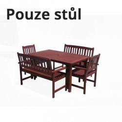 Dřevěný stůl MALAY