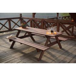 Dřevěný PIKNIK set - 200CM