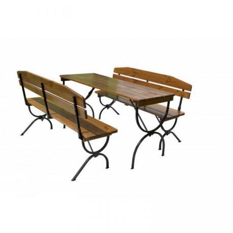 Dřevěný zahradní set BRAVO - 180CM