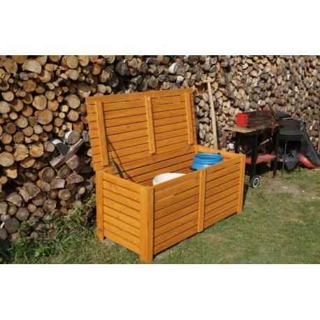 BOX na podušky dřevěný