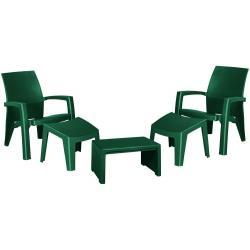 Zahradní set LAGO MAXI - zelený