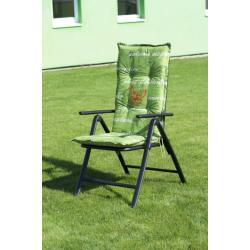 Polstrování na vysoké křeslo NAXOS HOCH - zelená 40240-230