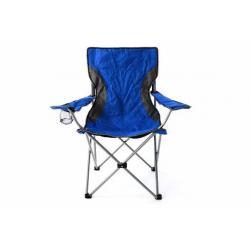 Skládací zahradní židle - modrošedá
