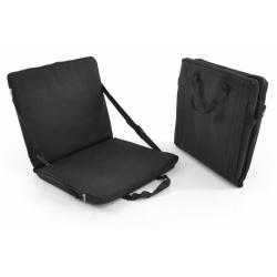 Přenosné polstrování - sedák - černý