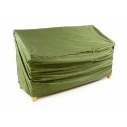 Ochranný potah na zahradní lavici 150 x 62 x 90 cm, zelený