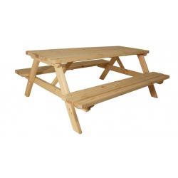 Zahradní set piknik - bez povrchové úpravy - 200 cm