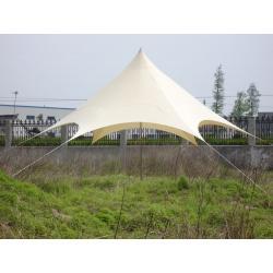 Stínící zahradní přístřešek - 3,5 x 3,5 x 3,6 x 4 m