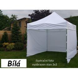 Zahradní párty stan PROFI STEEL 3 x 6 - bílá