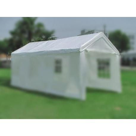 Náhradní střecha k zahradnímu stanu 4 x 8m - bílá